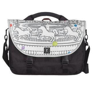 Carousel Laptop Commuter Bag