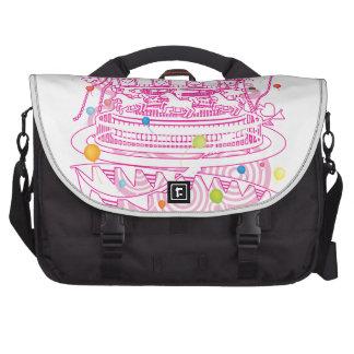 Carousel Laptop Messenger Bag