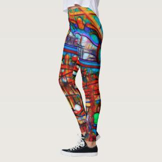 Carousel Leggings from Naturewear