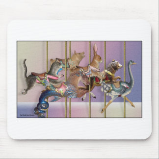 Carousel Menagerie.jpg Mouse Pad
