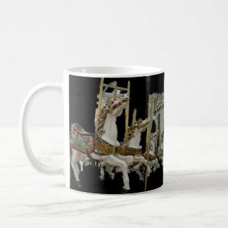 Carousel Merry Go Round Horses Coffee Mug