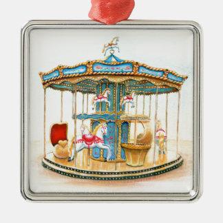 'Carousel' Metal Ornament