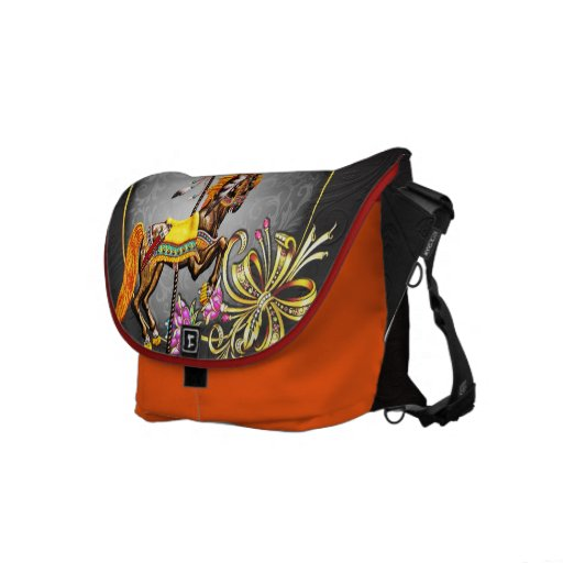 Carousel Nights - Messenger Bag