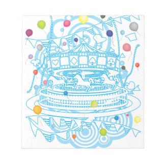Carousel Notepad