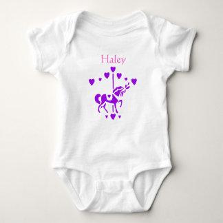 Carousel onsie baby bodysuit