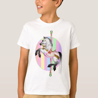 carousel pastel t shirt Kids Clothes