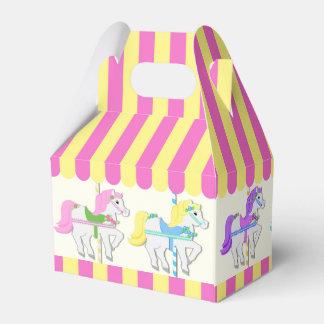 Carousel Ponies Favor Box
