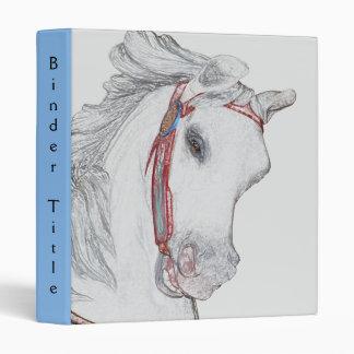 Carousel Pony Artwork Binders