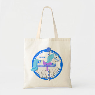 Carousel Pony Blue with Stars Bags