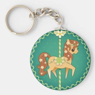 Carousel Pony – Daisy Flower Keychains