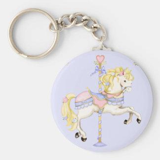 Carousel Pony Keychain