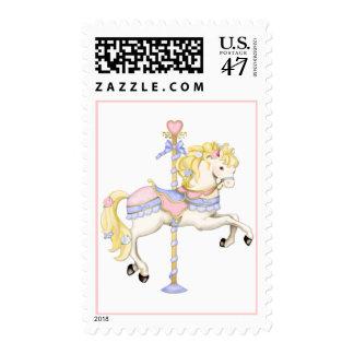 Carousel Pony Postage