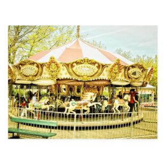 Carousel Post Card