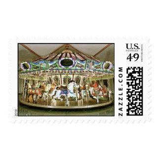 carousel stamp
