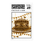 Carousel Postage Stamp