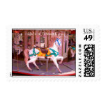 Carousel Postage Stamps