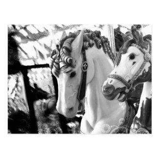 carousel postcard
