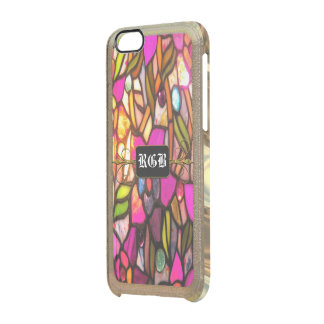 Carousel Pretty 6/6s Monogram Clear iPhone 6/6S Case