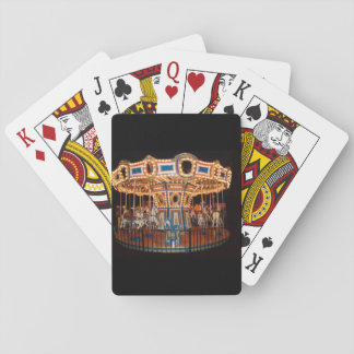 Carousel printed on playing cards