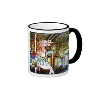 CAROUSEL ~ Ringer Mug