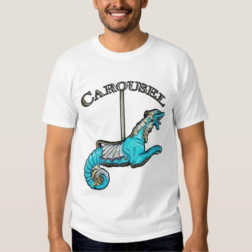 Carousel Sea Monster shirt