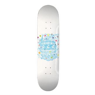 Carousel Skateboard Deck