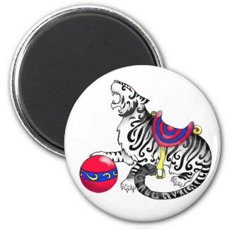 Carousel Tiger Magnet