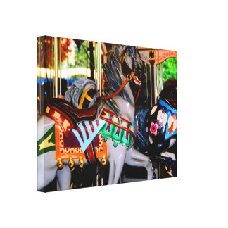 Carousel Wrapped Canvas Gallery Wrap Canvas