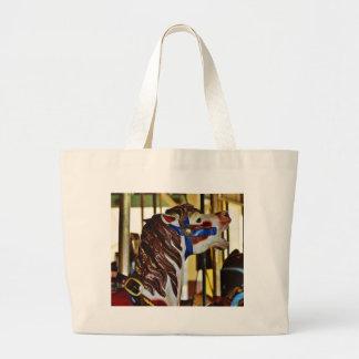 Carousels Horses Rides Amusement Parks Canvas Bag