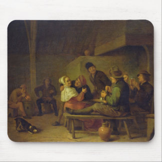 Carousing Farmers Mouse Pad