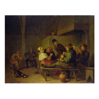 Carousing Farmers Post Cards