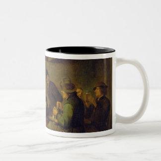 Carousing Farmers Two-Tone Coffee Mug