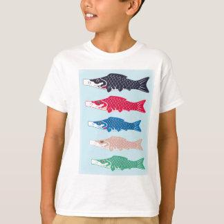 Carp 幟 (Koinobori) is carp-shaped streamer T-Shirt