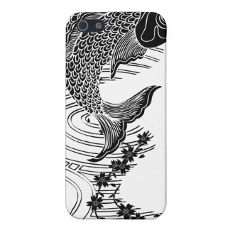 Carp and Cherry blossoms 鯉桜 Case For iPhone SE/5/5s