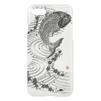 Carp and Cherry blossoms 鯉桜 iPhone 7 Case