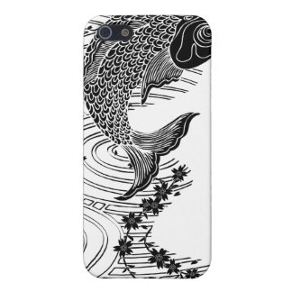Carp and Cherry blossoms 鯉桜 iPhone SE/5/5s Cover