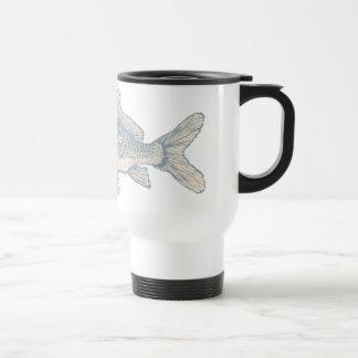 Carp Fish 15 Oz Stainless Steel Travel Mug