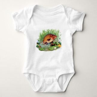 Carp Fishing Baby Bodysuit