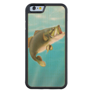 Carp Fishing Carved® Maple iPhone 6 Bumper