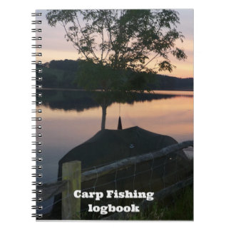Carp fishing Catch and Conditions logbook Notebook