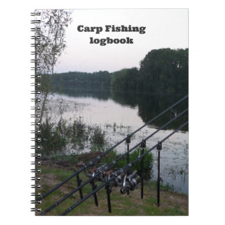 Carp Fishing Catch & Conditions notebook