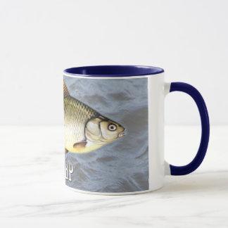 Carp Freshwater Fish, With Water Background Image Mug