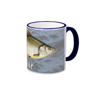 Carp Freshwater Fish, With Water Background Image Ringer Mug