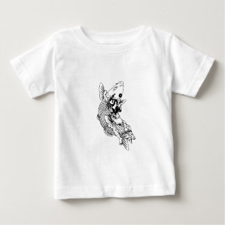 Carp from Japanese tatto story Baby T-Shirt
