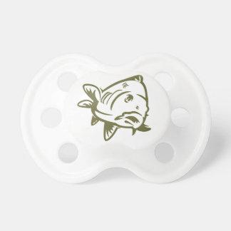 Carp weans baby pacifier