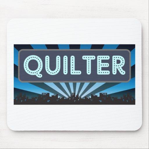 Carpa de Quilter Alfombrilla De Ratones