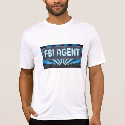 Carpa del agente del FBI Camisetas