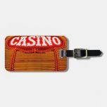 Carpa del casino en Carson City Etiquetas Maletas
