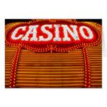 Carpa del casino en Carson City Tarjeta De Felicitación