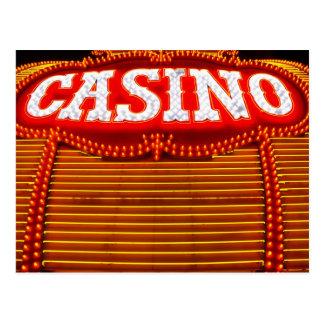 Carpa del casino en Carson City Tarjetas Postales